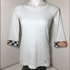 Burberry Crew neck top, excellent condition, M